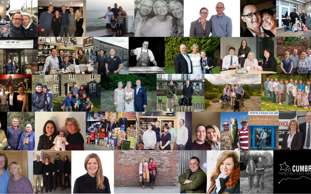 Cumbria Family Business Awards Finalists 2018