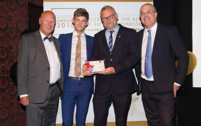 Luxury bed maker Harrison Spinks has been awarded two prestigious family business of the year awards