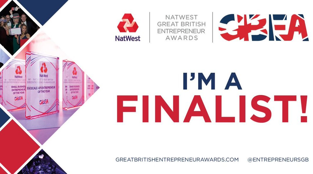 Sue Howorth shortlisted for the 2018 NatWest Great British Entrepreneur Awards