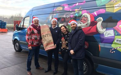 Driving Home for Christmas – The Family Business Santa Dash to help the homeless
