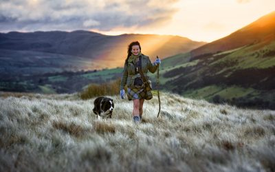 A SHEPHERDESS is to stride out along the 80-mile Dales Way to highlight the plight of traumatised soldiers' families.