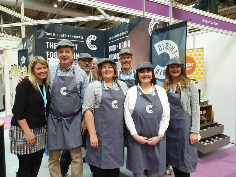 New food and drink group helps Cumbria producers shine on national stage