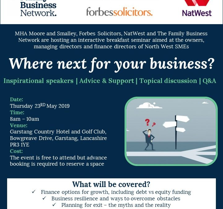 Northwest businesses come together to host free seminar on planning for the future of your business