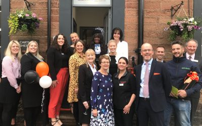 Legal firm's revamped office officially opened by High Sheriff