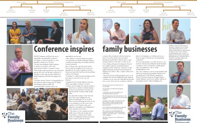 Conference inspires family businesses