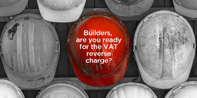 VAT reverse charge – new accounting rules for builders from 1 October