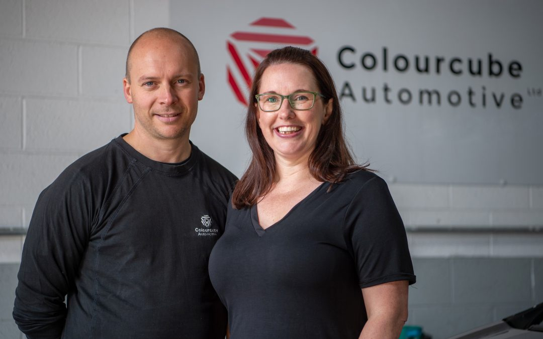Automotive family business accelerates ahead to win 'Best New Bodyshop' in national automotive awards