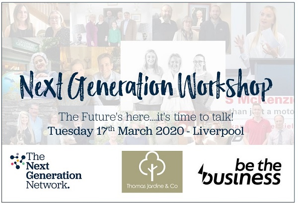 The 'Next Generation Workshop' heads to Liverpool