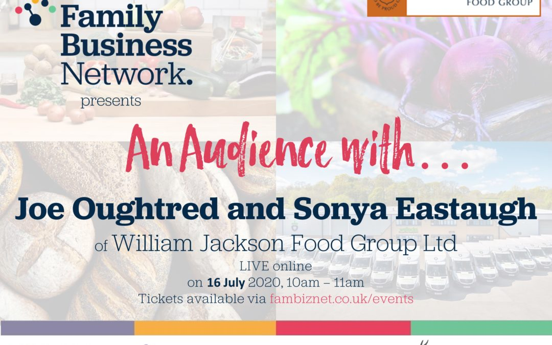 New series of 'Audience with' events launches this July