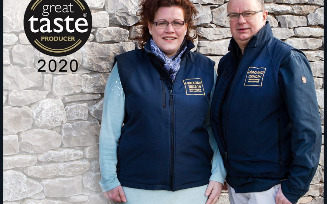 Lakeland Artisan Ltd is Cumbria's Top Great Taste Awards winners of 2020