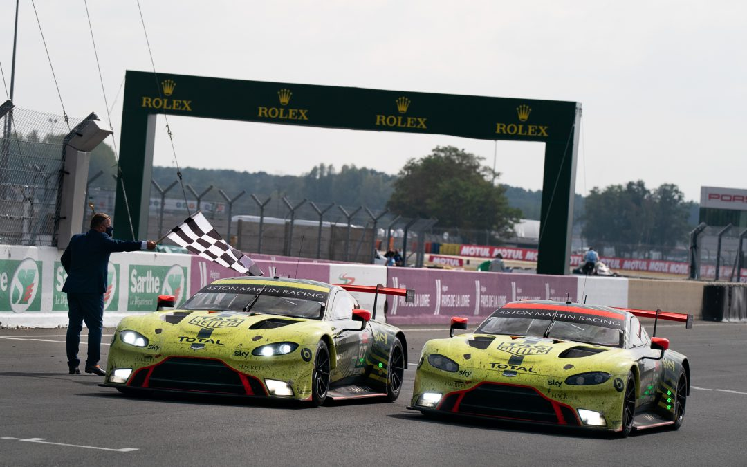 HMG Paints partner Aston Martin Racing win iconic Le Mans 24 Hour