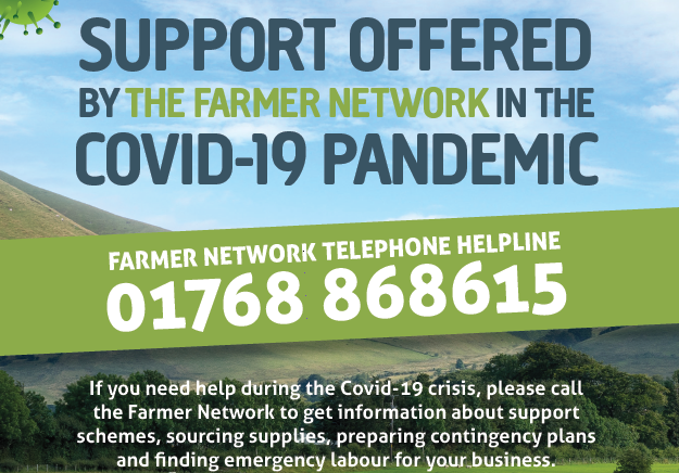 Support offered by the Farmer Network in Covid-19 pandemic