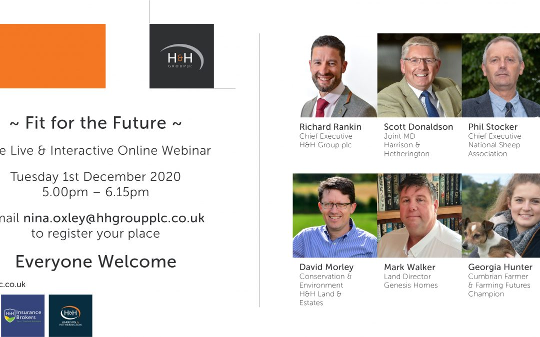 H&H Group announce first webinar, 'Fit for the Future'