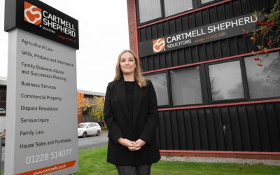 Michelle Hayes new starter at network partner Cartmell Shepherd Solicitors.