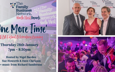 The North West Family Business Awards community come back together for 'One More Time'