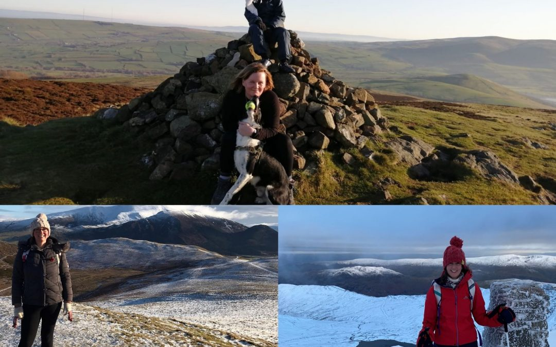 Network Partner Cartmell Shepherd Complete Charity Fell Walk Challenge