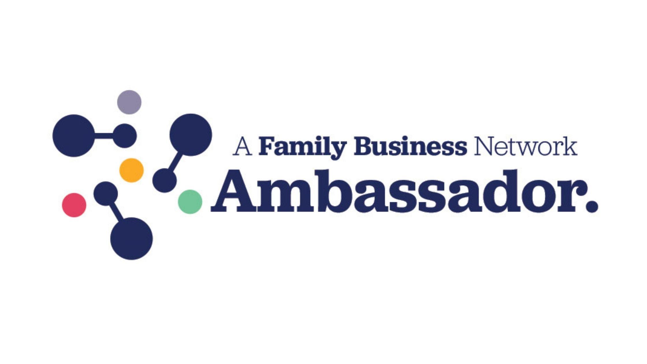 The Family Business Network Ambassador Logo