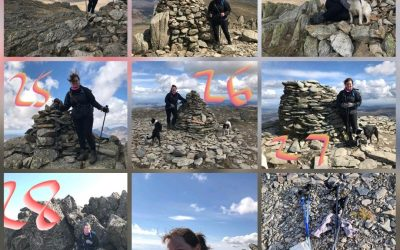 Business leader steps into the shoes of Wainwright for a charity challenge