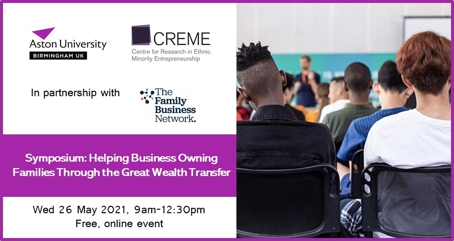 Family businesses line up to discuss ownership and wealth transfer through the generations at upcoming event