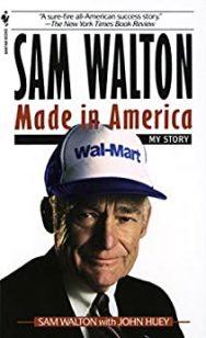 Sam Walton Made in America Book Cover