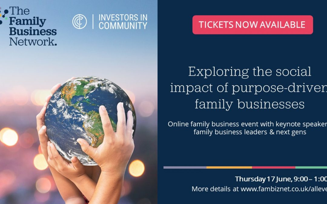 Business leaders join with the next generation to explore social impact & purpose in family businesses!