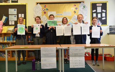The Family Business Network Supports Primary School Pupils in Windermere to 'make a difference'