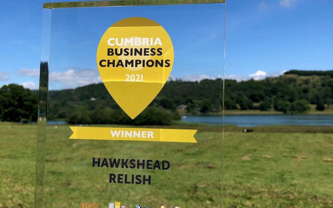 Hawkshead Relish Win at Town and County Business Champions Awards