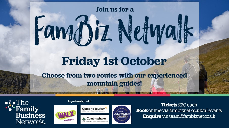 Cumbrian business collaborators launch new family business event