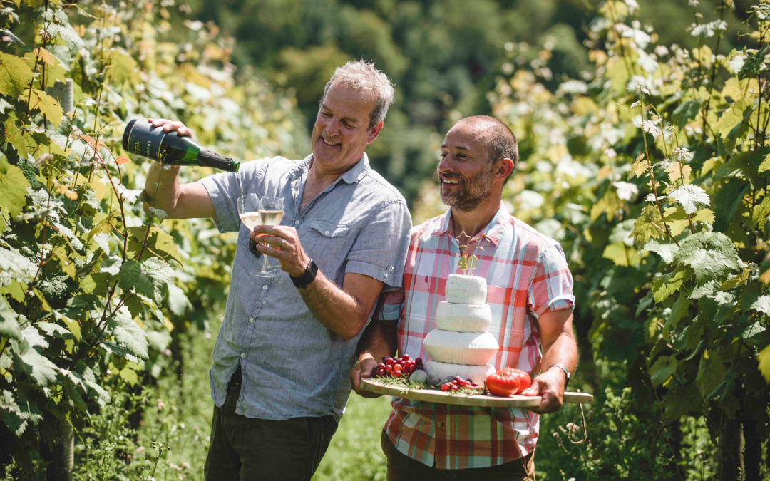 Celebrating Forty Years of Sharpham Wine and Cheese