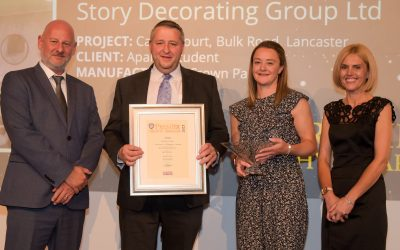 Success for Story Decorating Group at Indudtry Awards